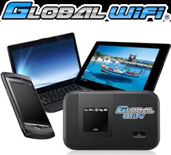 海外インターネットはグローバルWiFi